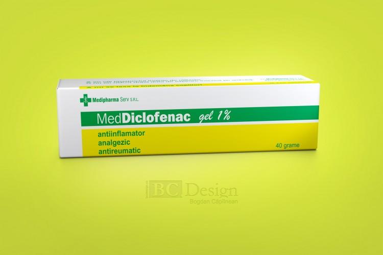 grafică ambalaj pentru produse farmaceutice