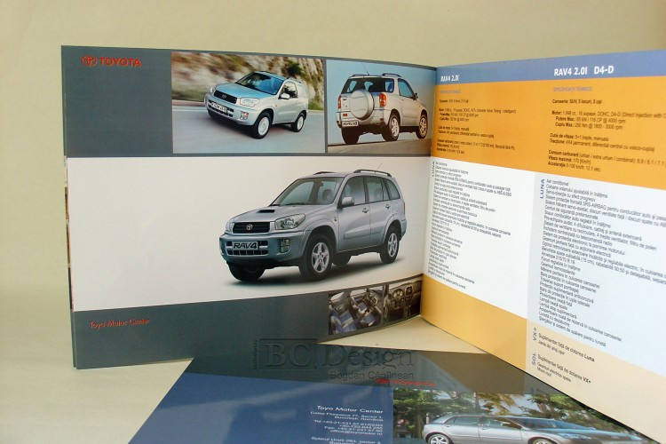 grafica catalog toyota