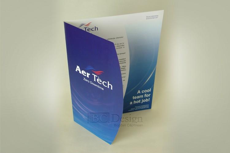 design brosura Aer Tech
