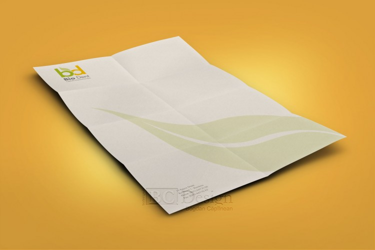 hârtie cu antet Bio Dent
