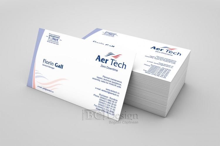 carte de vizita - Aer Tech
