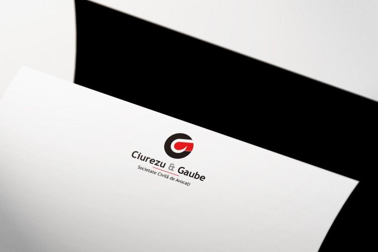hârtie cu antet, Ciurezu & Gaube - societate civilă de avocați