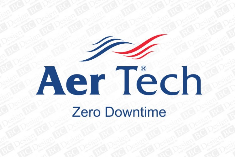logo, identitate de corporatie Aer Tech