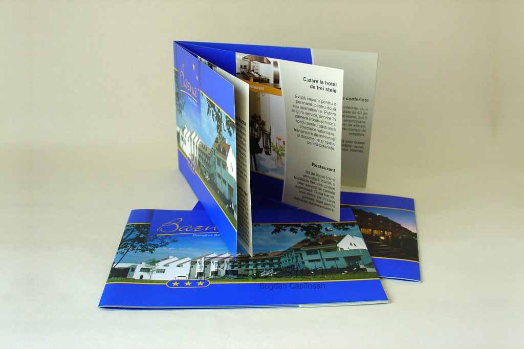 Brosura pentru Complexul balnear Bazna