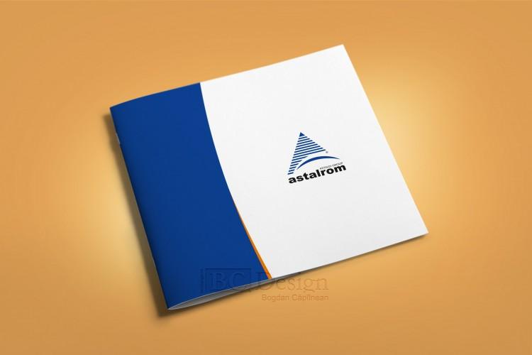 grafica brosura Astalrom
