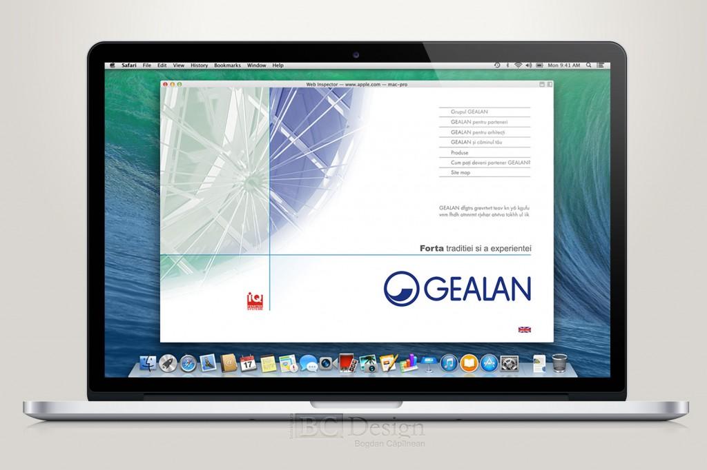 web design Gealan Romania