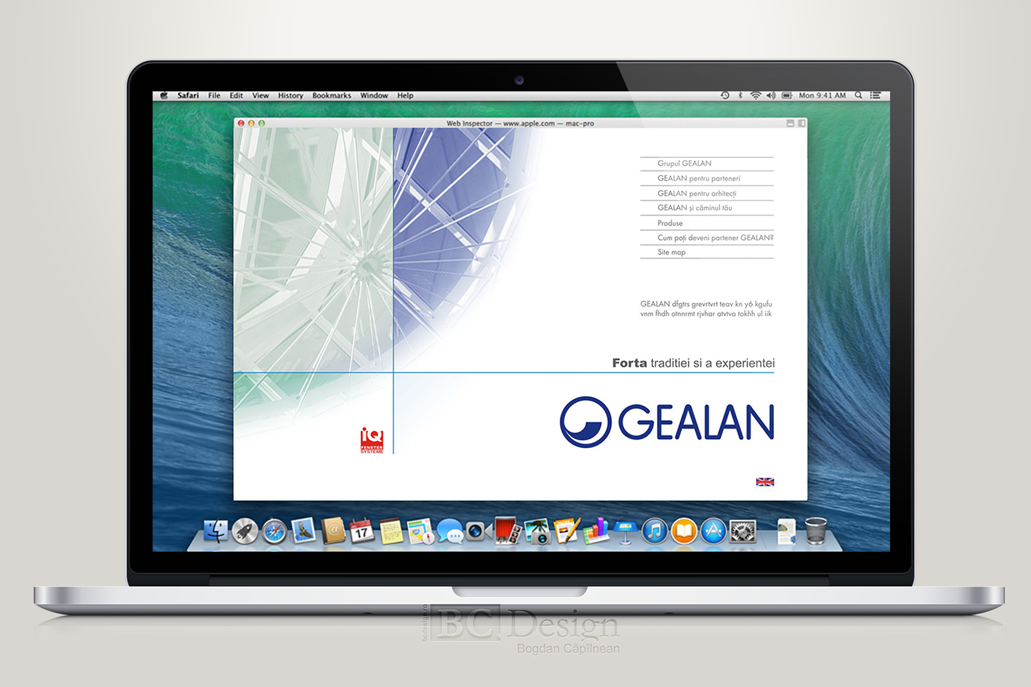 web design Gealan Romania