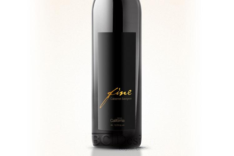 grafica eticheta vin