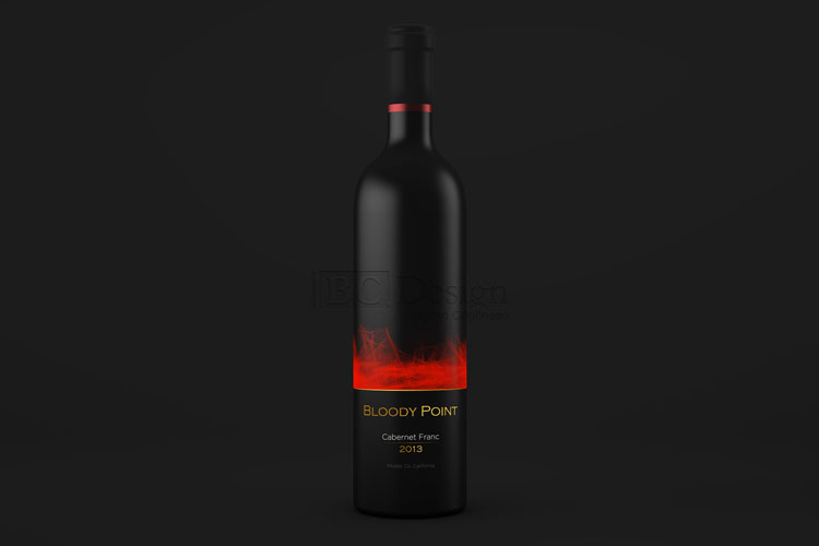 design eticheta vin rosu cabernet franc