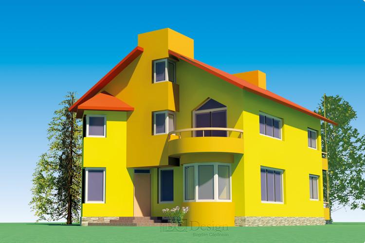 Modelare 3D Casa