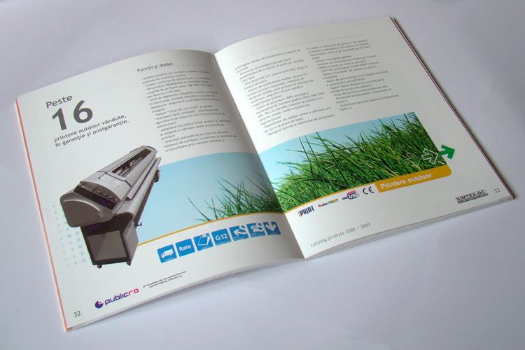 design catalog produse, grafica catalog