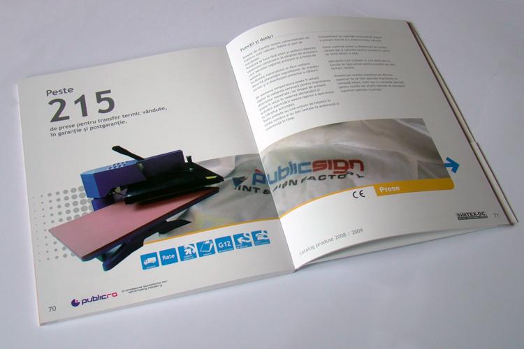 design catalog de echipamente