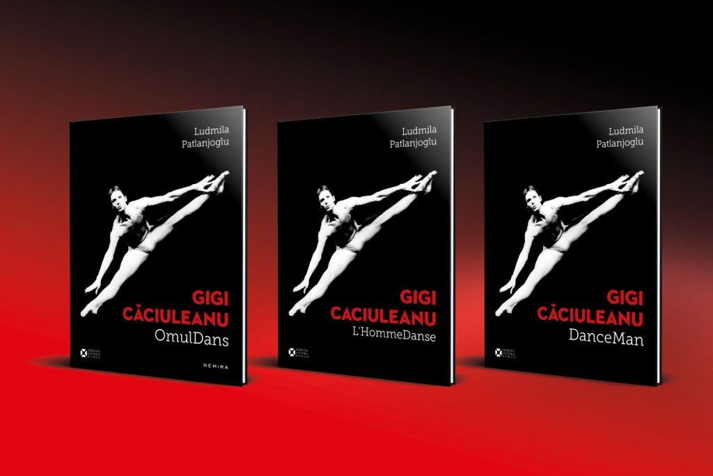 concept grafic volumul Gigi Caciuleanu OmulDans - Bogdan Căpîlnean